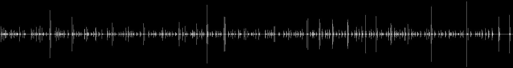 ラップトップコンピューター:キーボ...の未再生の波形