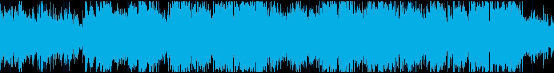 希望に満ちた爽やか大空系 ※ループ仕様版の再生済みの波形