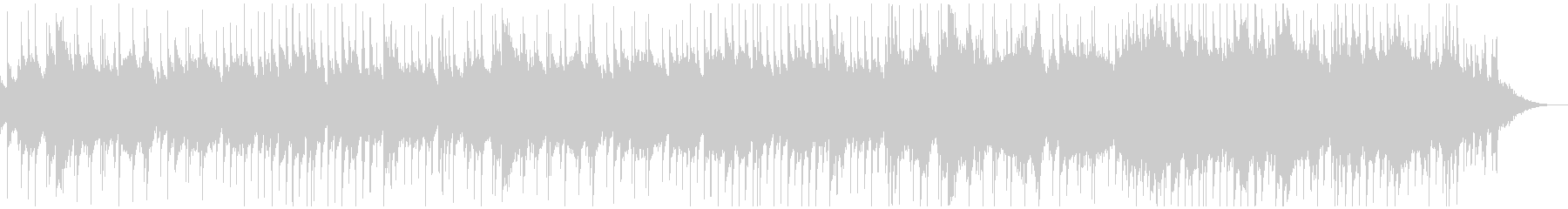 蛍の光 ジャジーなオーケストラアレンジの未再生の波形
