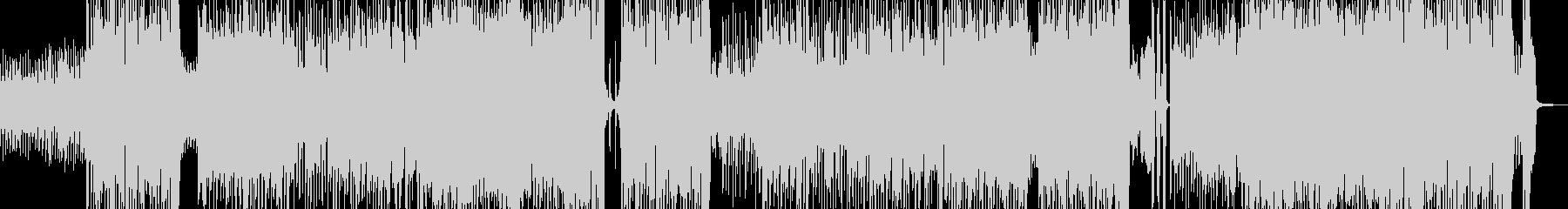 アイドリーなテクノポップ エレキ無の未再生の波形