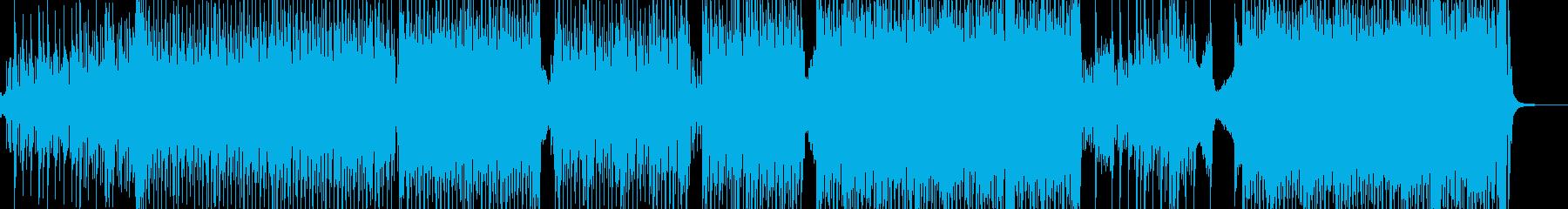 弱肉強食・原始時代イメージのテクノ A3の再生済みの波形