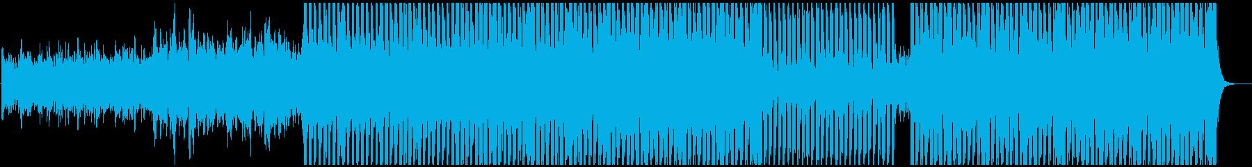ソフトなテクノビートと素敵なメロデ...の再生済みの波形