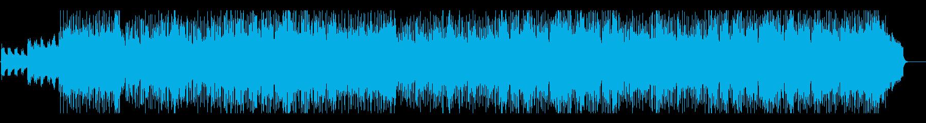 安らぎを感じる日常系リラックスポップの再生済みの波形