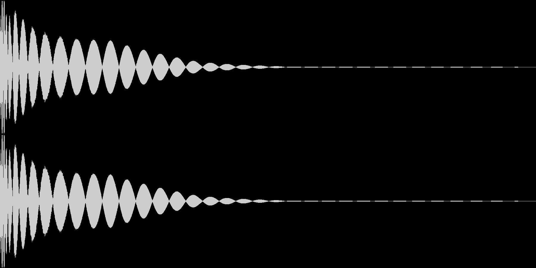 DTM Kick 44 オリジナル音源の未再生の波形