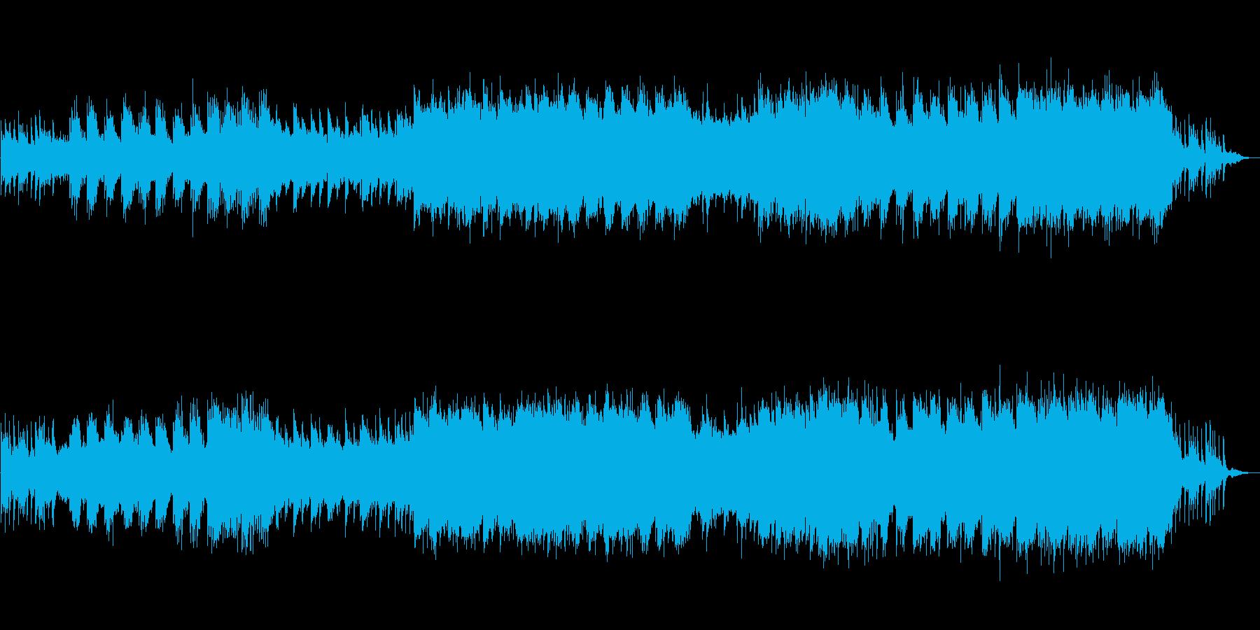 和風 しっとりやさしいバラードの篠笛抜きの再生済みの波形