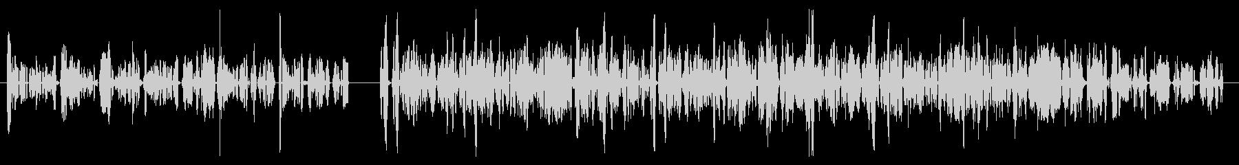 カートン、トーク、2バージョン; ...の未再生の波形