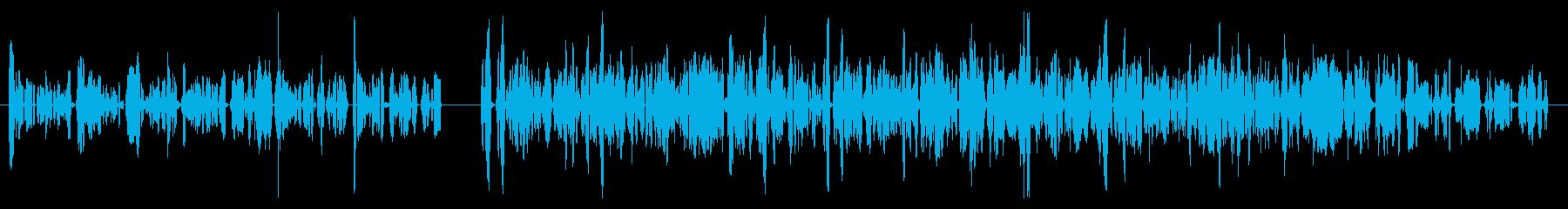 カートン、トーク、2バージョン; ...の再生済みの波形