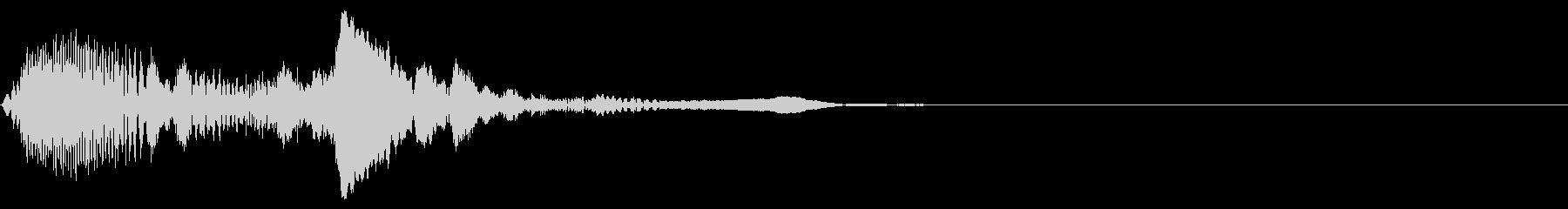ピュルン(8bitゲーム風の効果音)の未再生の波形