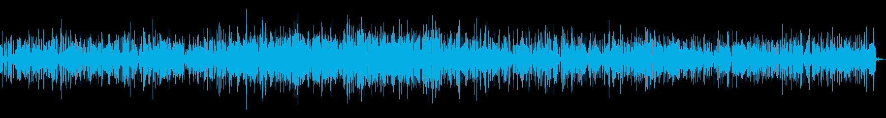 ミドルテンポのさわやかなブルースの再生済みの波形