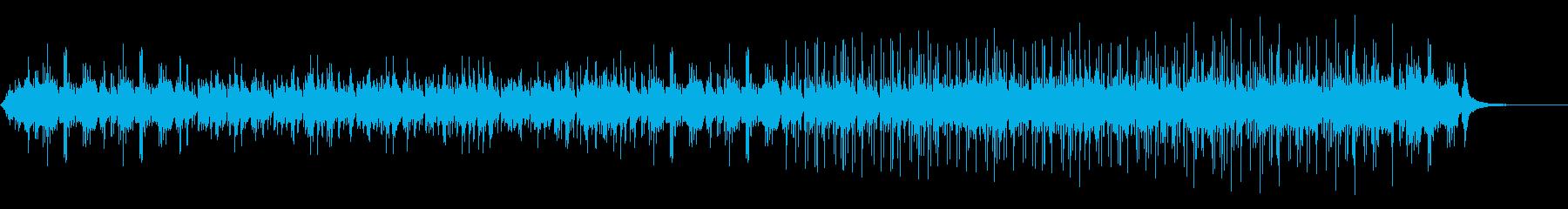 神秘的なピアノ曲の再生済みの波形