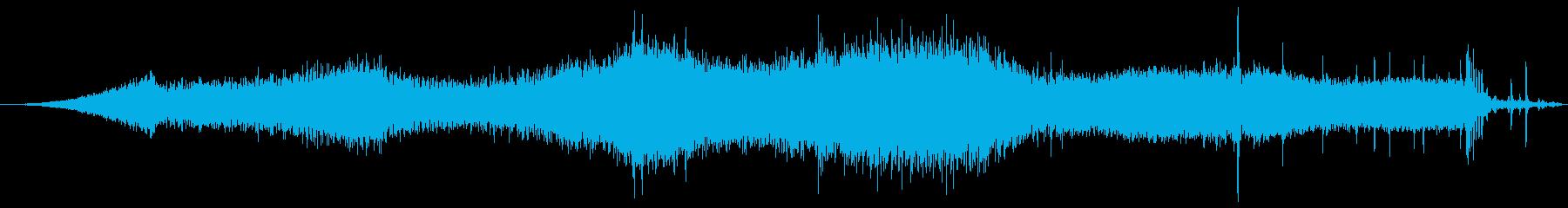 インフィニティFx 35クロスオー...の再生済みの波形