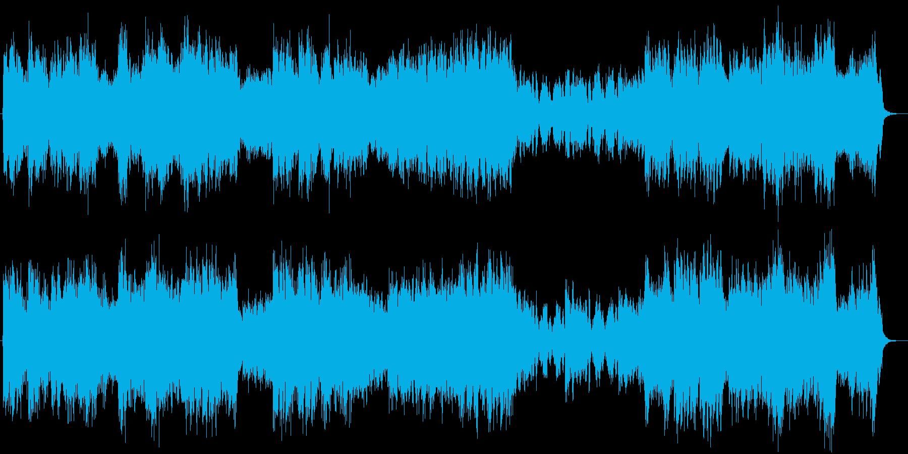 モーツァルトの「Dies Irae」の再生済みの波形