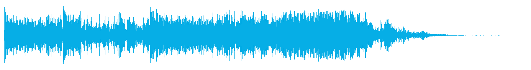 空気圧掃引4の再生済みの波形