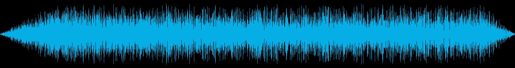 ザアアの再生済みの波形