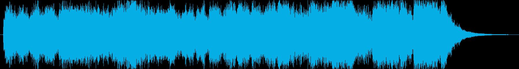 """""""星""""スペクタクルハリウッド_15s-Aの再生済みの波形"""