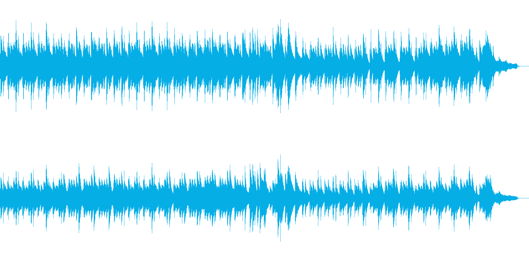 Nocturneの再生済みの波形