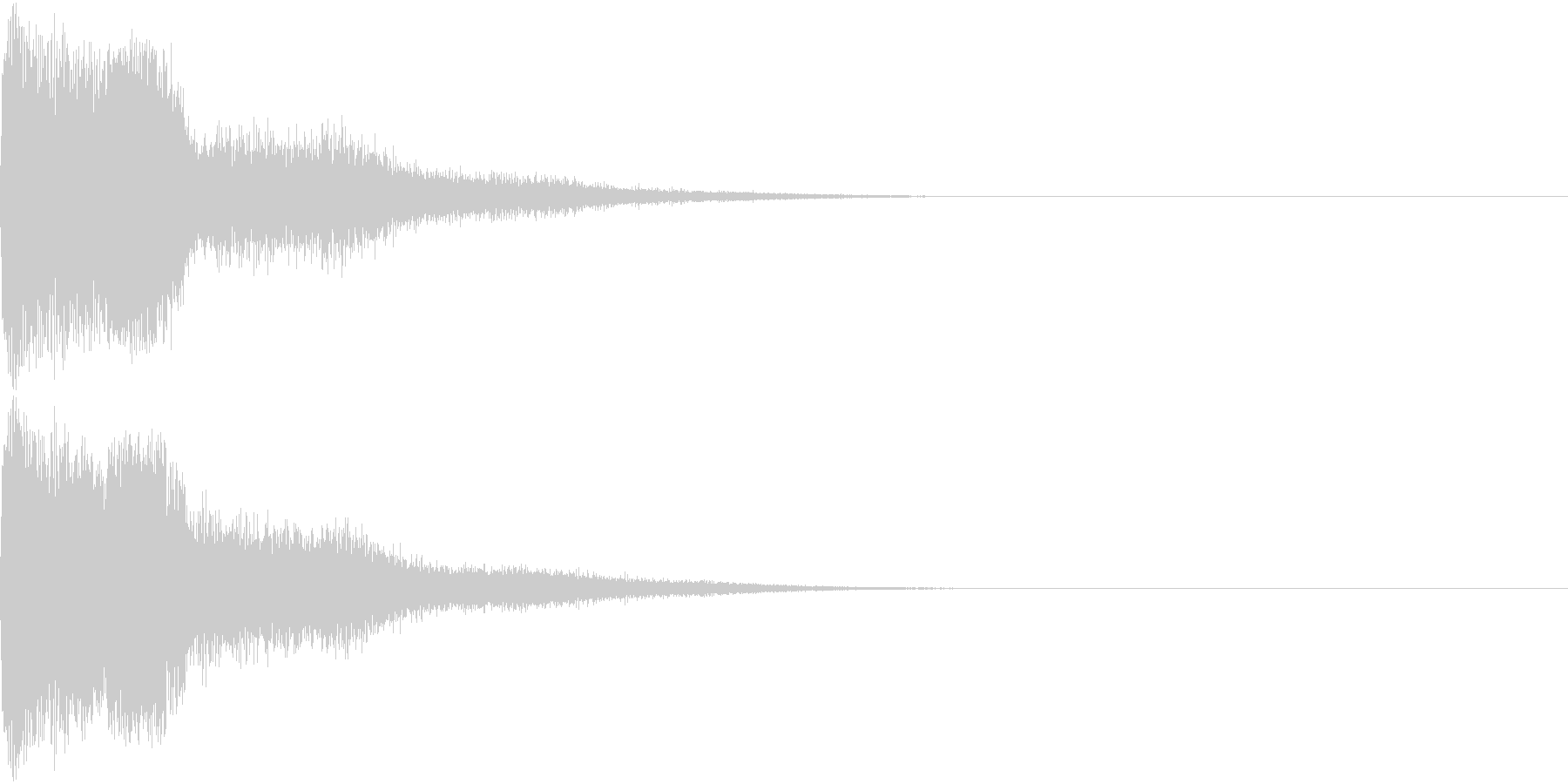 ピコン ピコ チャリン キュイン の未再生の波形