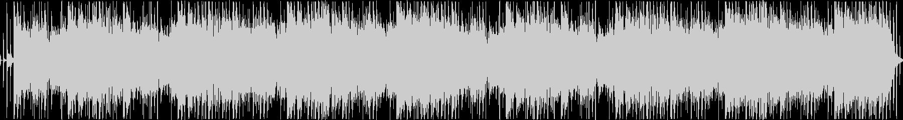 ベースリフが主役のダークなループの未再生の波形