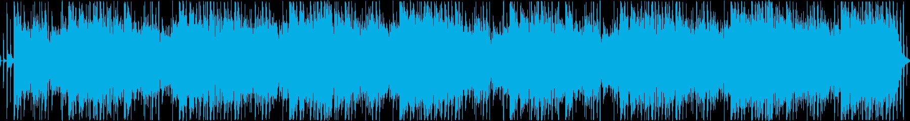 ベースリフが主役のダークなループの再生済みの波形