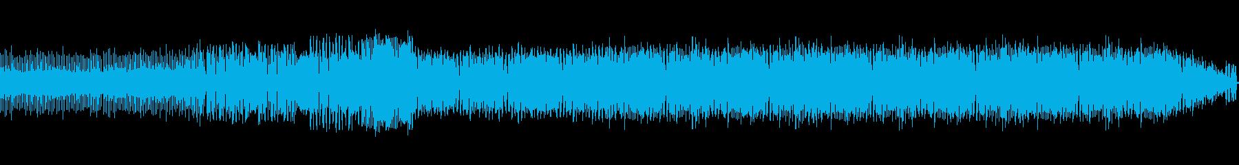 カッコいいClubサウンドの再生済みの波形