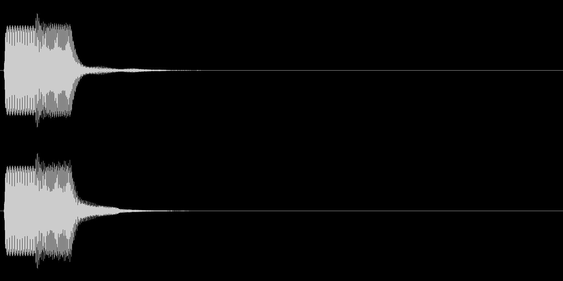 ピコン_鋸波(終了,停止,通知)_02の未再生の波形