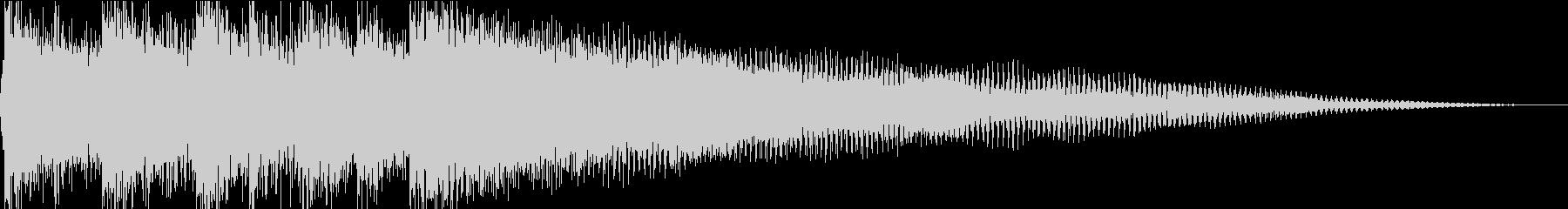 壮大で肯定的なオルタナティブロック...の未再生の波形