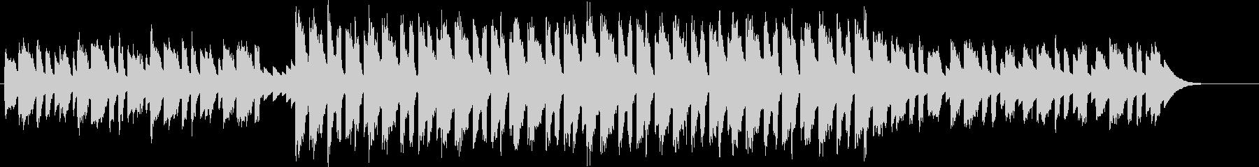 キラキラ輝くサウンドなエレクトロの未再生の波形
