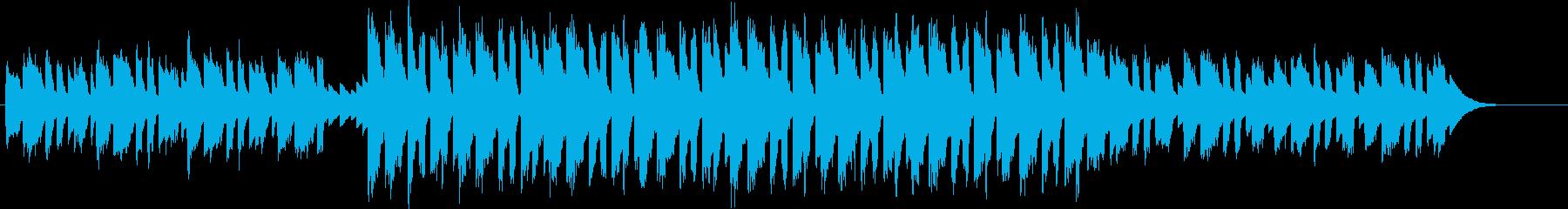 キラキラ輝くサウンドなエレクトロの再生済みの波形