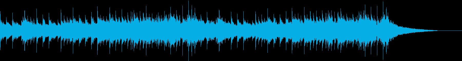 残響成分多めのオルゴール風BGMです。の再生済みの波形