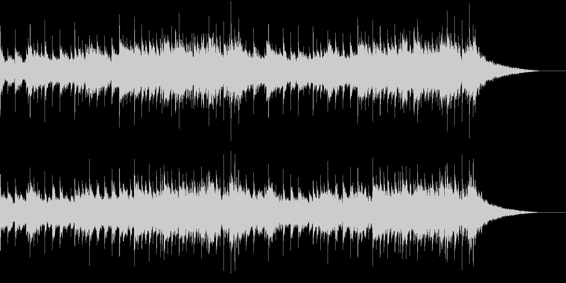 残響成分多めのオルゴール風BGMです。の未再生の波形