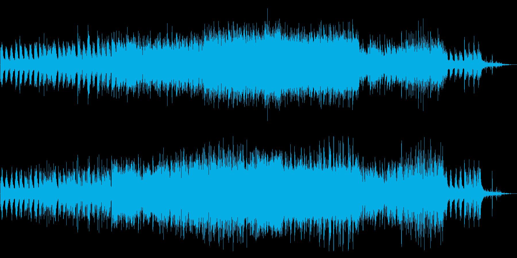 ピアノ/エレクトロニカ//不思議/雨の再生済みの波形