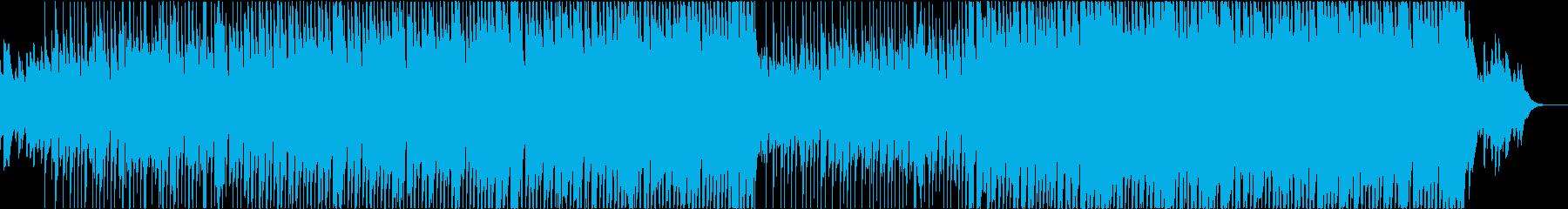 爽やか・前向きな雰囲気のポップスの再生済みの波形