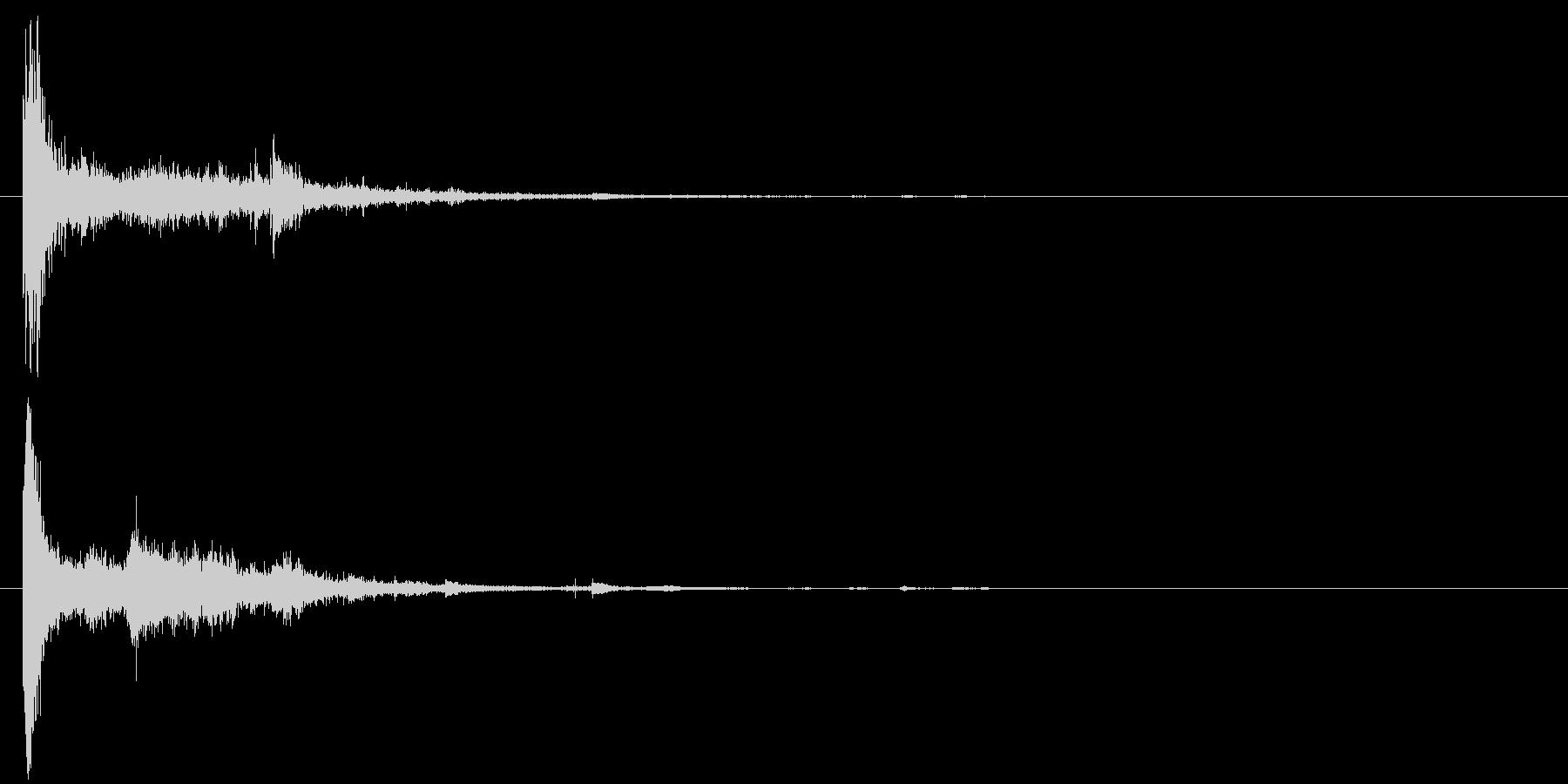 電球の破裂-18の未再生の波形