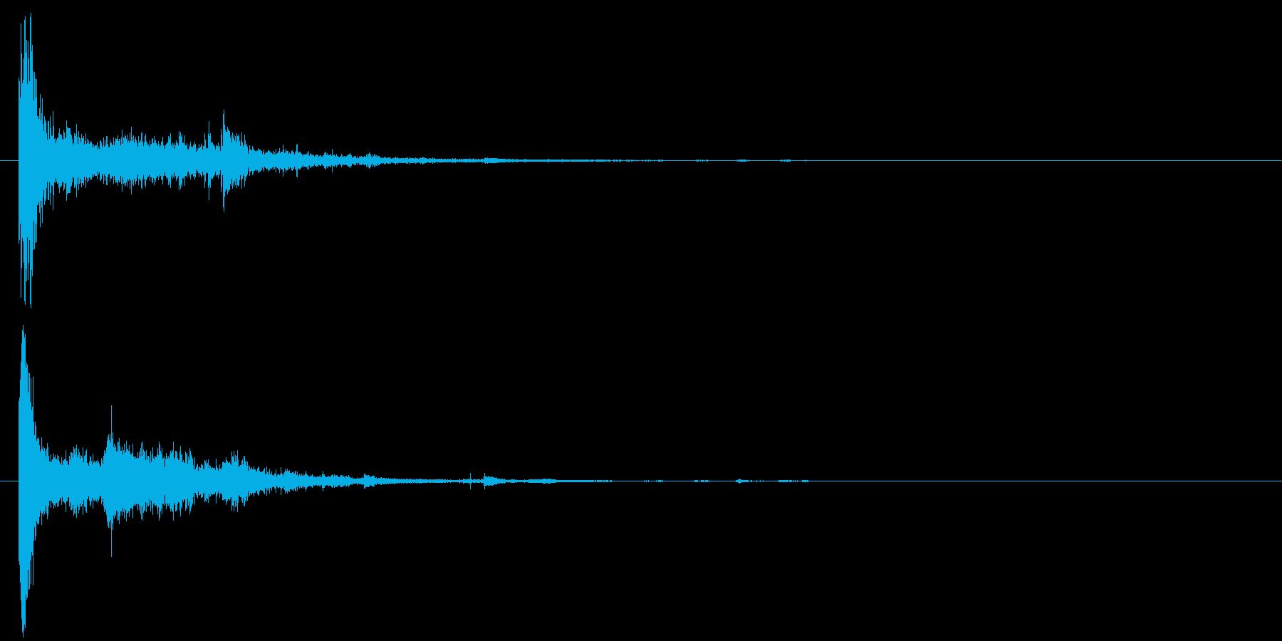 電球の破裂-18の再生済みの波形