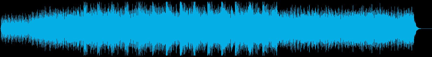 医療・科学系 アンビエント リズム有りの再生済みの波形