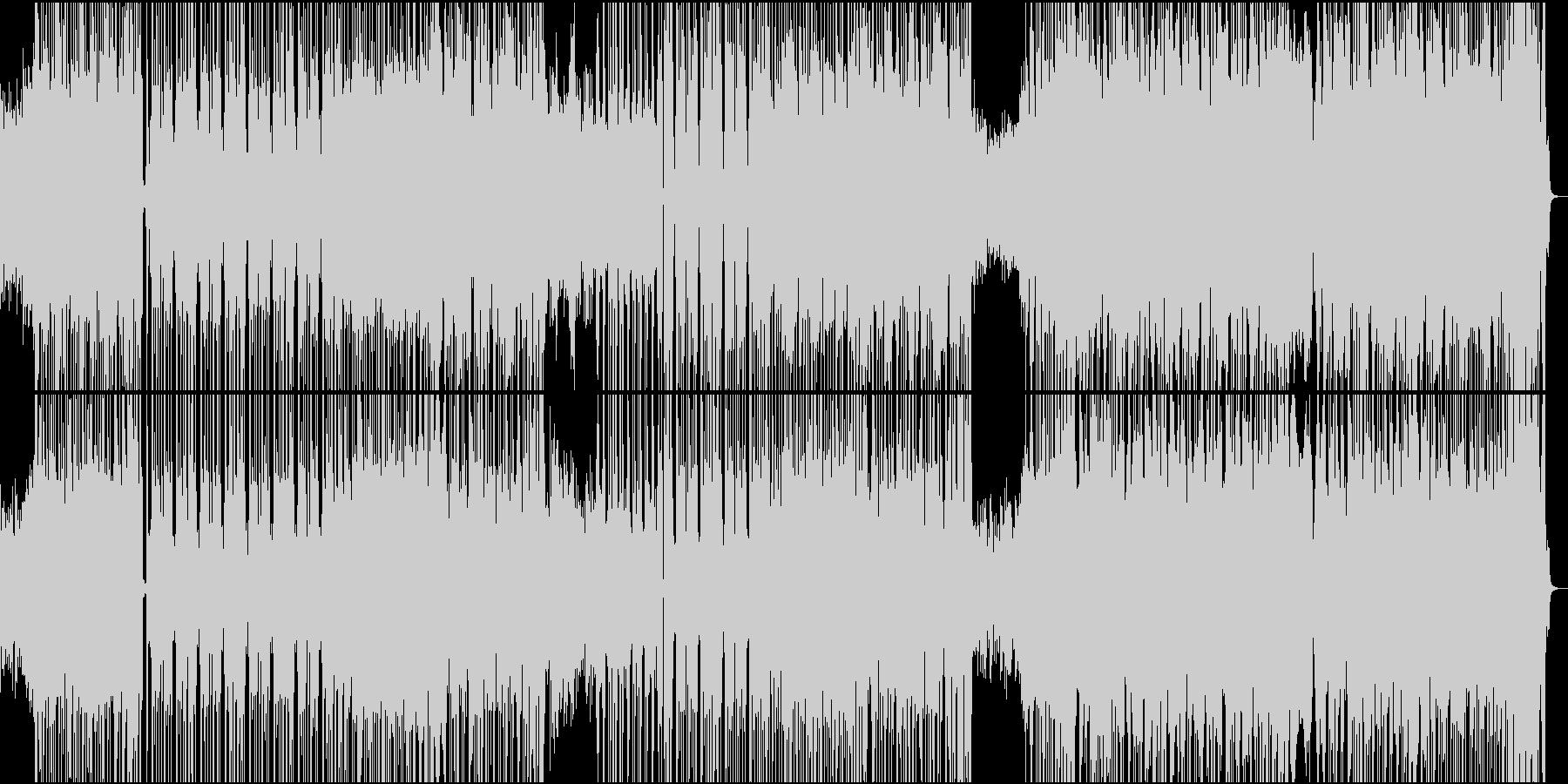 怪しく激しいハロウィンワルツの未再生の波形
