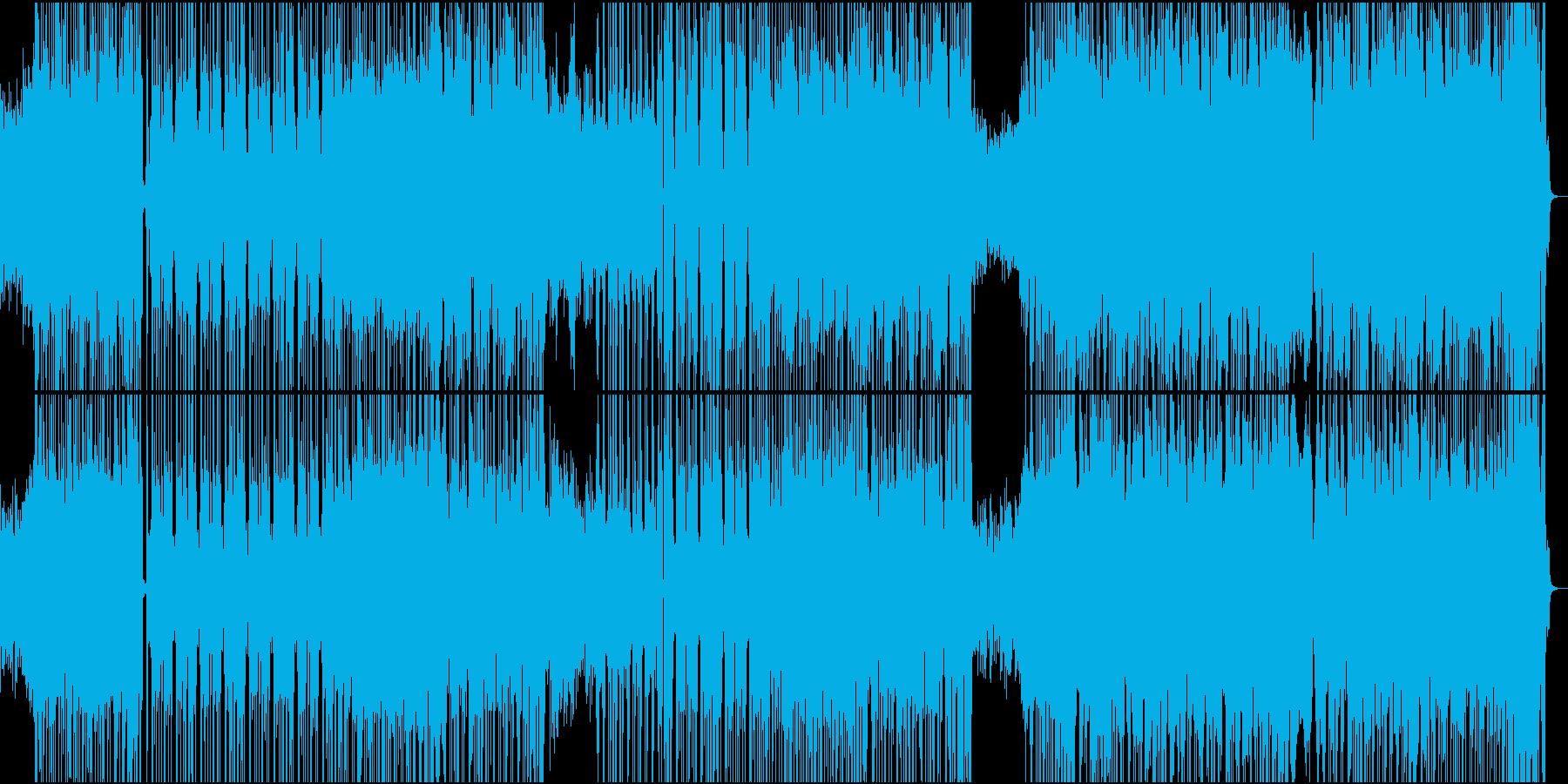 怪しく激しいハロウィンワルツの再生済みの波形