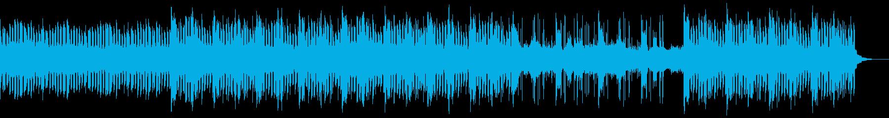ミステリアスで神秘的なSF風サウンドの再生済みの波形