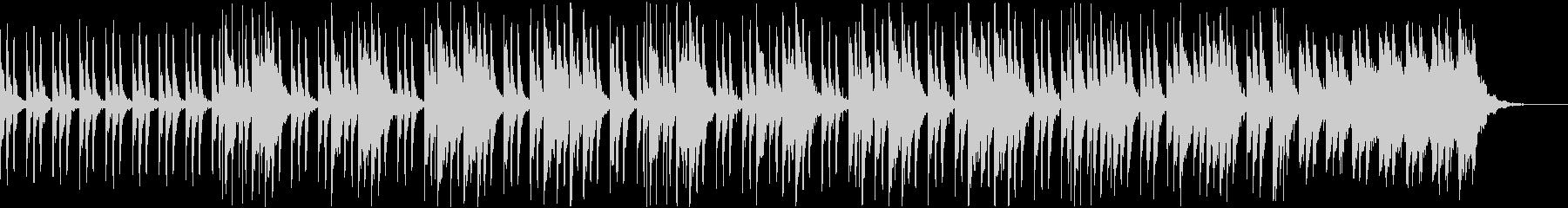 トイピアノとマリンバの奇妙なBGMの未再生の波形