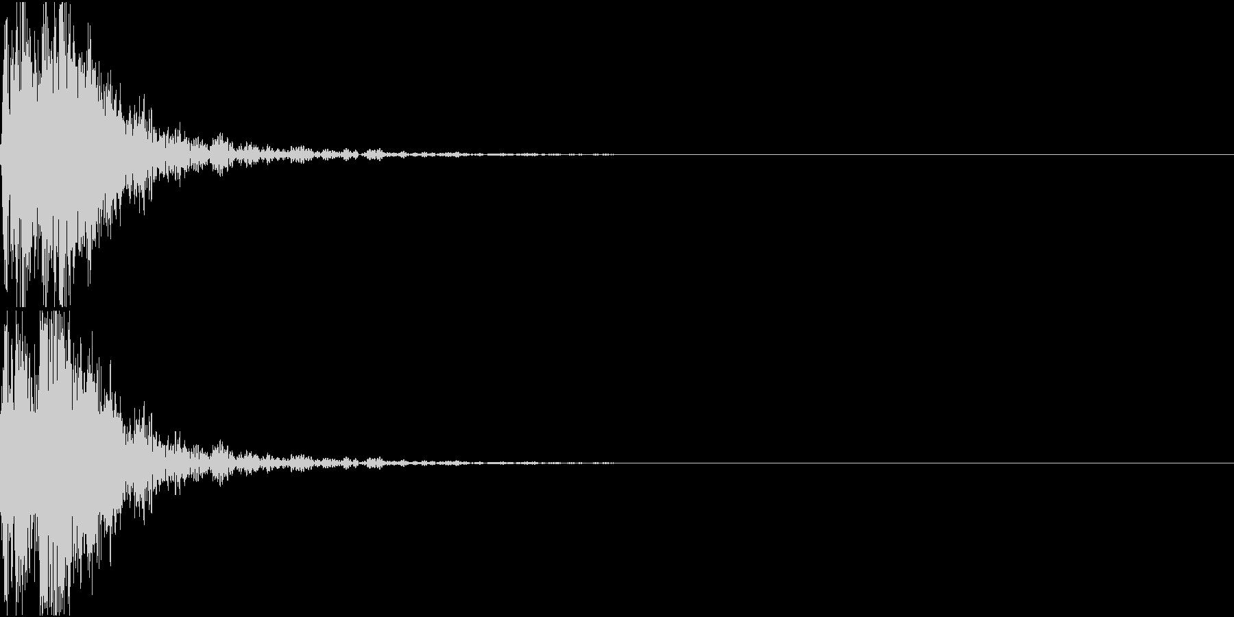 [[デレン↑]] 和太鼓、箏、三味線 の未再生の波形