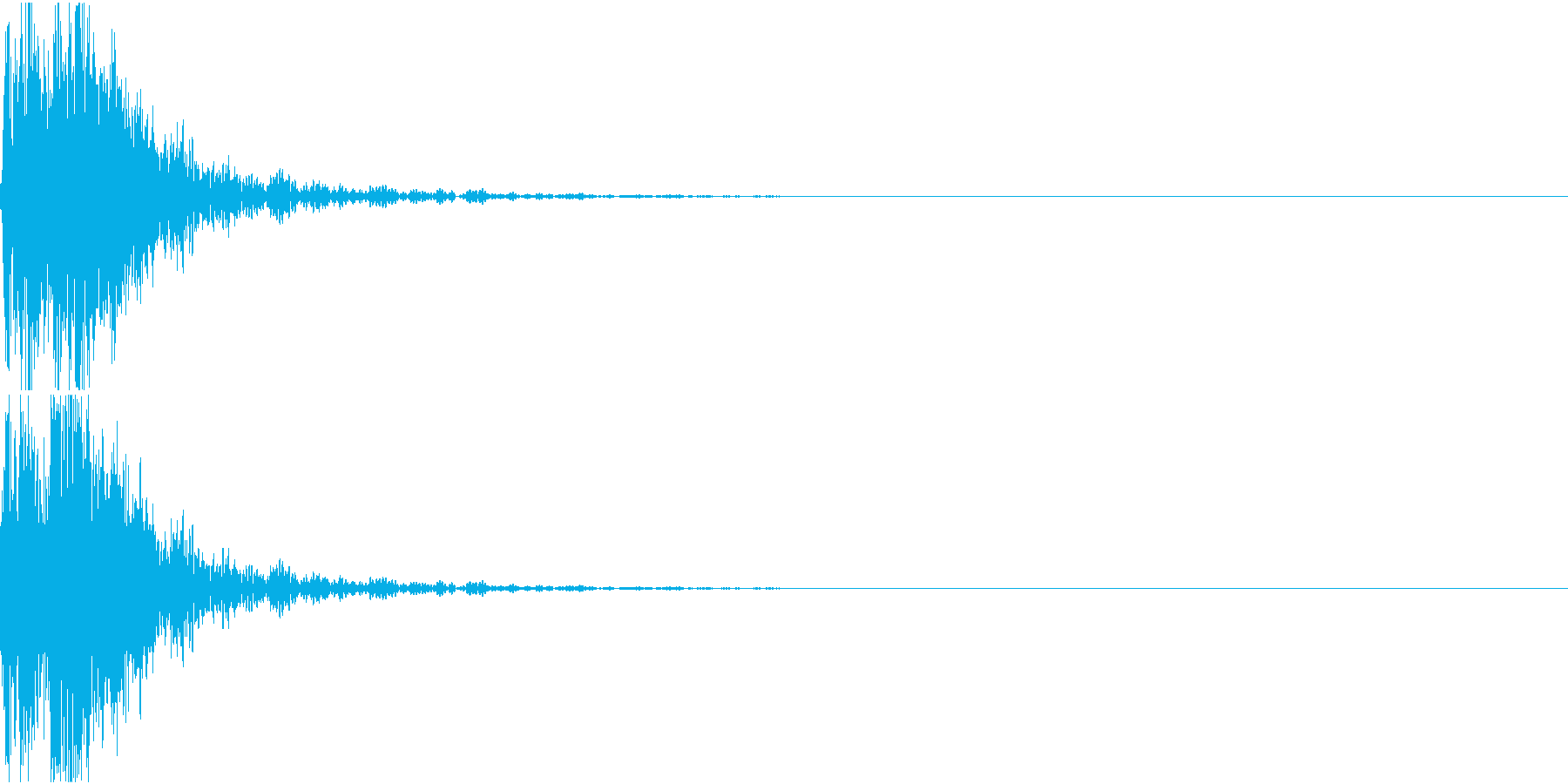 [[デレン↑]] 和太鼓、箏、三味線 の再生済みの波形