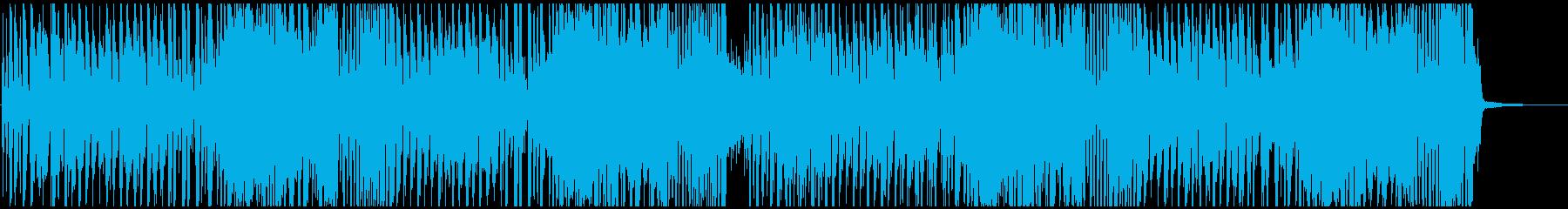 コミカル明るい楽しい ラテン系ノリノリの再生済みの波形
