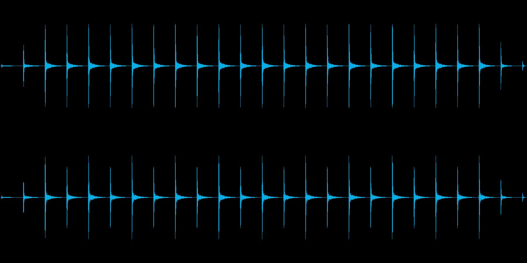 時計 ticktock_48-2_revの再生済みの波形