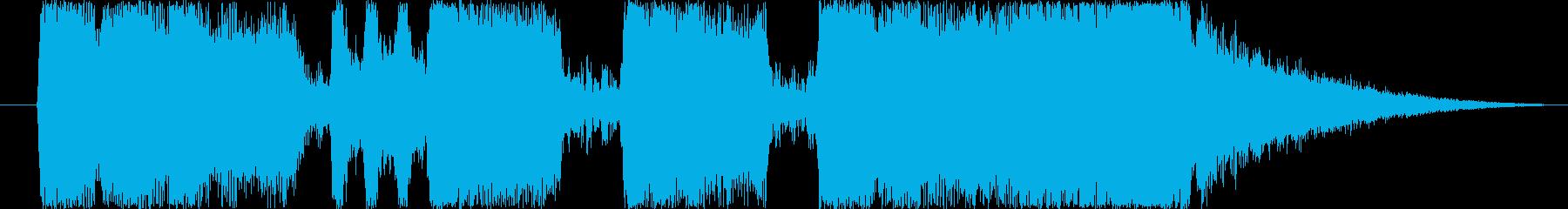 ファンファーレ3の再生済みの波形