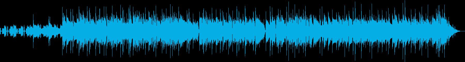 暑い日をイメージしたクラシックロックの再生済みの波形