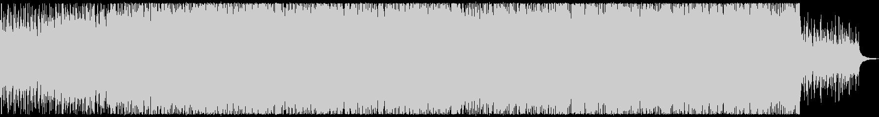 爽やかなアコースティック系ロックの未再生の波形