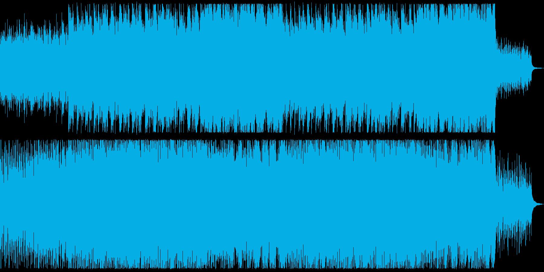爽やかなアコースティック系ロックの再生済みの波形