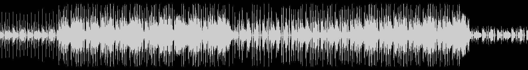 アンニュイなローファイヒップホップの未再生の波形