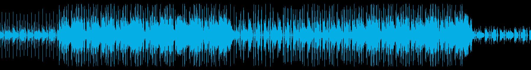 アンニュイなローファイヒップホップの再生済みの波形