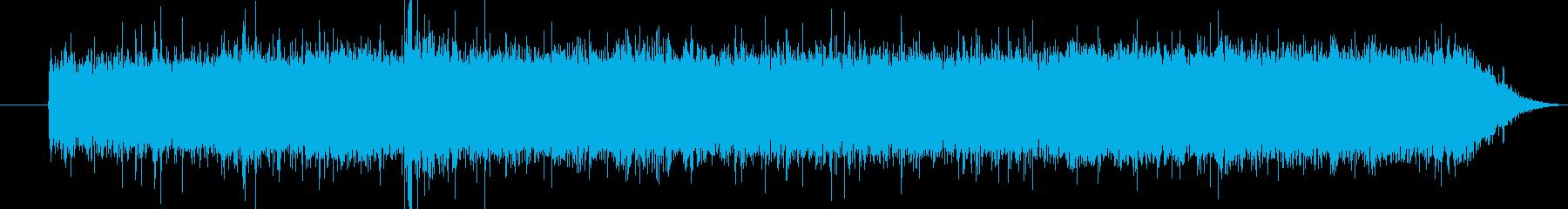 ぴちぴちシュワー(唐揚げの揚げ始めの音)の再生済みの波形